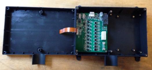 Valve controller PC board