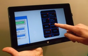 touch assist surface close up